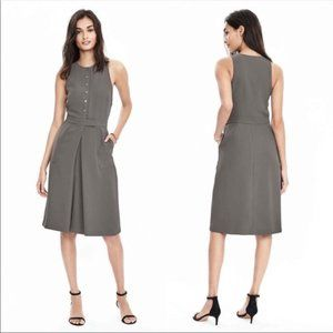 Banana Republic Sleeveless A Line Dress Career